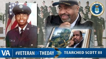Tearched Scott - Veteran of the Day