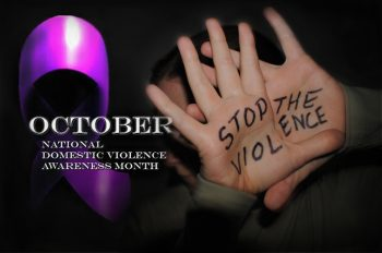 October is Domestic Violence Awareness Month, and the U.S. Department of Veterans Affairs remains committed to helping Veterans, their partners and VA staff who are impacted by Intimate Partner Violence (IPV). (U.S. Air Force photo illustration by Staff Sgt. Luis H. Loza Gutierrez)