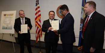 IMAGE: Office of Accountability and Whistleblower Protection LA awards presentation
