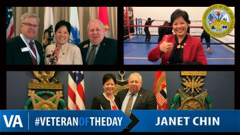 Janet Chin - Veteran of the Day