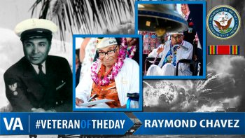 Raymond Chavez - Veteran of the Day