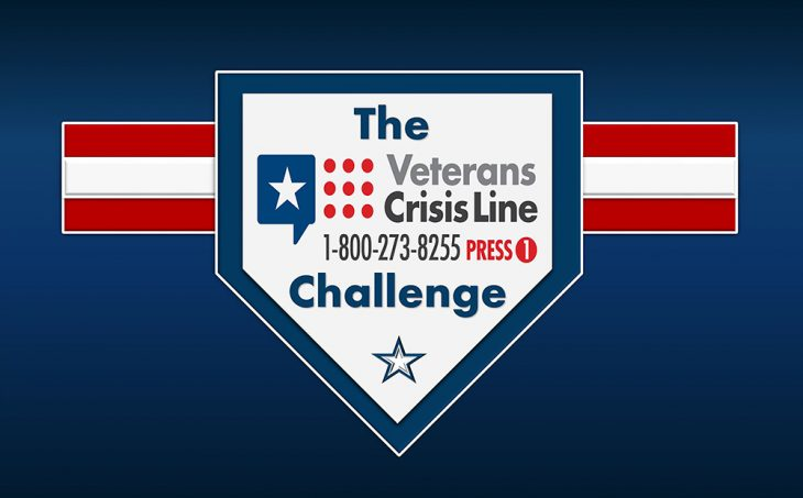 Veterans Crisis Line Challenge graphic with blue background using Veterans Crisis Line number and logo. The Veterans Crisis Line Challenge, which is commonly referred to as the VCL Challenge is completed by someone who programs the VCL phone number [1-800-273-8255 and Press 1] to their phone contacts list and then posts a photo or video of it on social media sites as proof. (U.S. Department of Veterans Affairs info graphic by Luis H. Loza Gutierrez)