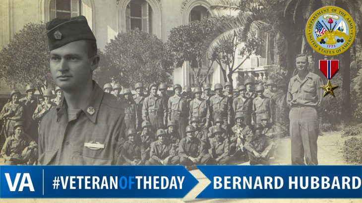 Bernard Hubbard - Veteran of the Day