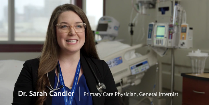 A picture of Dr. Sara Chandler