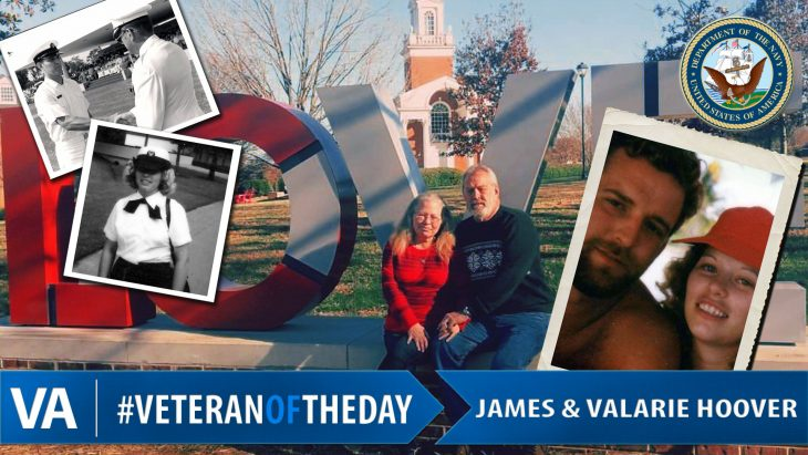 James and Valarie Hoover - Veteran of the Day