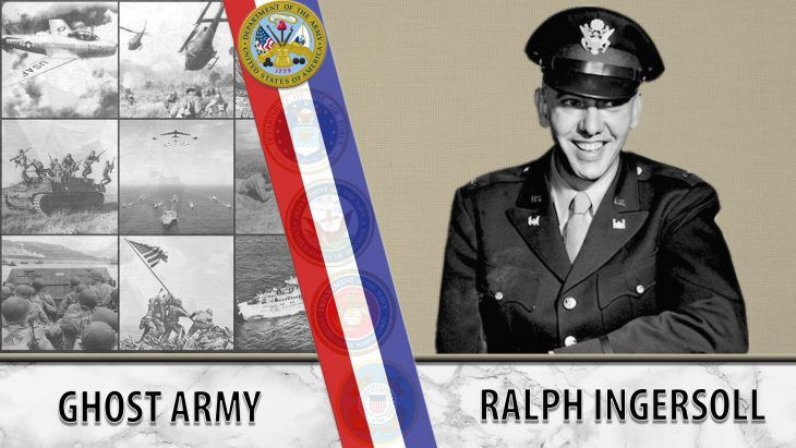 Featured image for Ralph Ingersoll - Text reads: Ghost Army - Ralph Ingersoll