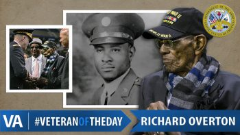 Richard Overton - Veteran of the Day