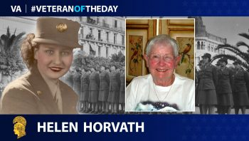 Helen Horvath - Veteran of the Day