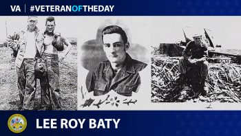 Lee Baty - Veteran of the Day