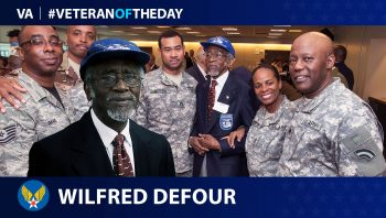 Wilfred DeFour - Veteran of the Day