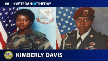 Kimberly Davis - Veteran of the Day