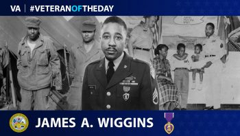 James A. Wiggins - Veteran of the Day
