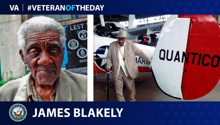 James Blakely - Veteran of the Day