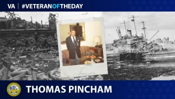 Thomas Pincham - Veteran of the Day