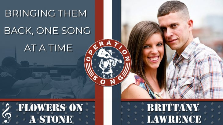 Operation Song graphic for Flowers on a Stone by Brittany Lawrence