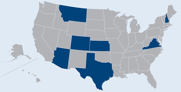 Picture of the United States