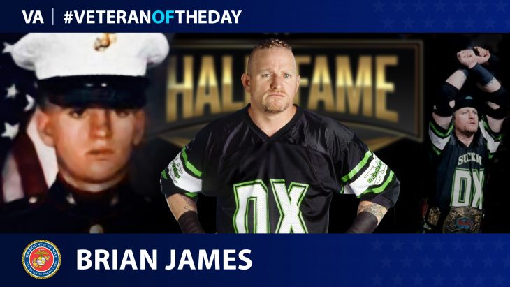 Brian James Veteran of the Day