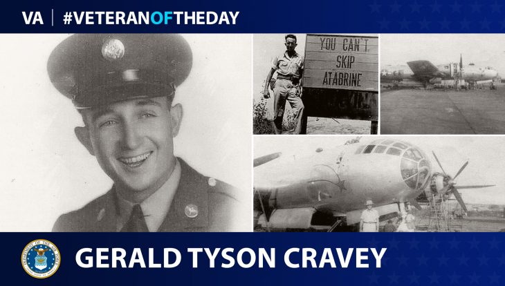 Veteran of the Day graphic for Gerald Tyson Cravey