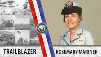 Veteran Story graphic of Rosemary Mariner.