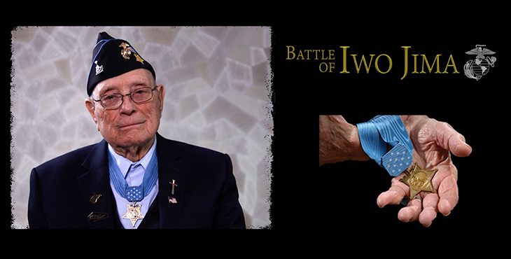GRAPHIC of Iwo Jima series about Medal of Honor recipient Woody Williams