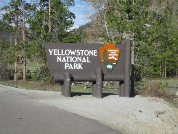 Yellowstone National Park entrance - Richie Diesterheft-Flickr