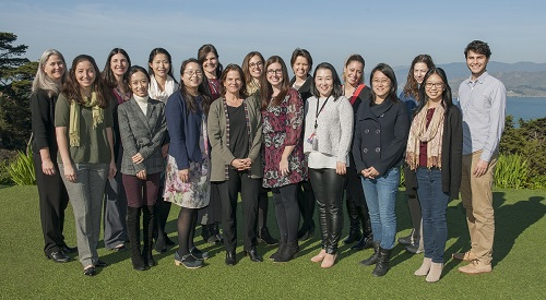 Group photo of researchers for the Center for Population Brain Health at UCSF.