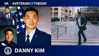 Danny Kim is a Veteran of the US Air Force.