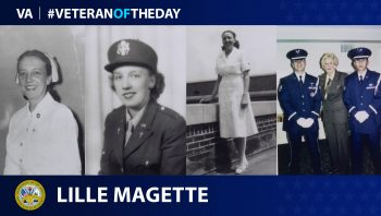 Veteran of the Day graphic Lille Magette