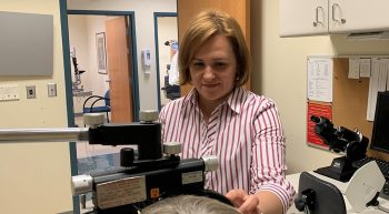 Dr. Olga Whitman helps visually impaired Veterans meet their goals
