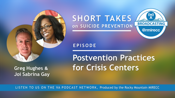 Postvention podcast series for survivors of suicide loss.