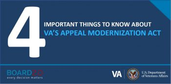 Learn about how the new appeals process benefits Veterans who disagree with their VA claim decision.