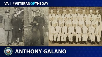 Today's Veteran of the Day is Anthony Golano.