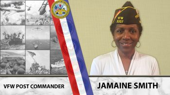 """Jamaine Smith is this week's """"A Veteran's story"""" post."""