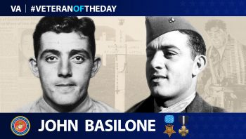 John Basilone is today's Veteran of the Day.