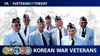 Today's Veteran of the Day are Korean War Veterans.