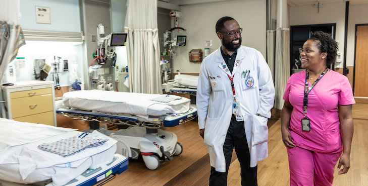 VA nurses collaborate to help deliver state-of-the-art care to help Veterans heal.