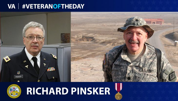 Doctor turned soldier, Richard Pinsker, served in the NY National Guard.