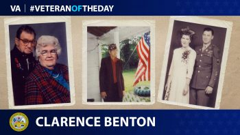 Today's #VeteranOfTheDay is Clarence Benton.