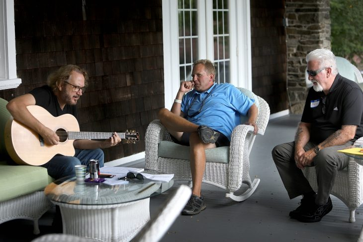Songwriting With Veterans host PBS show for Veterans in Nashville.