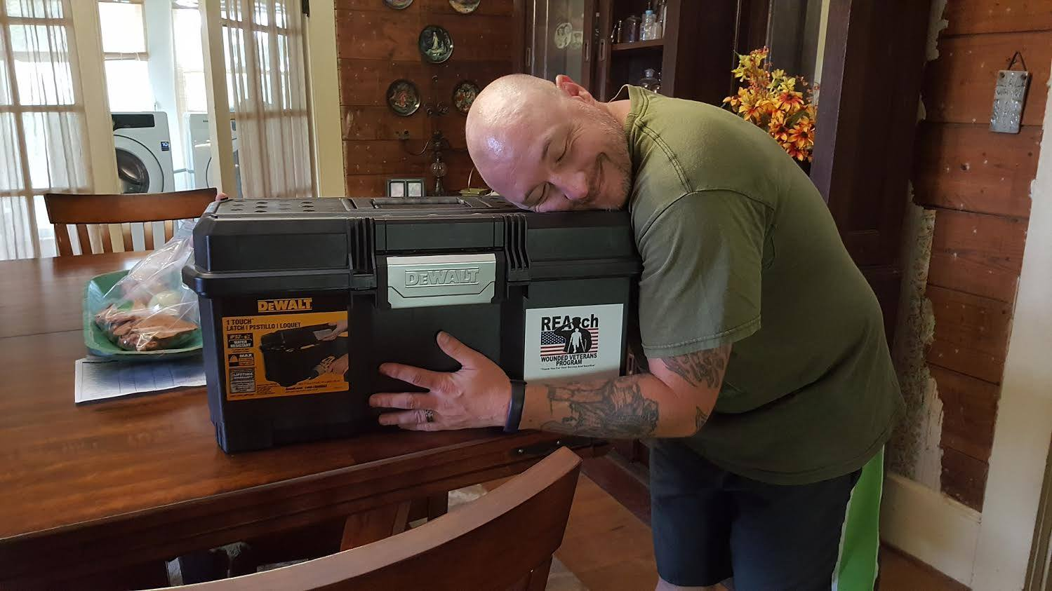 REAch Veteran Toolbox Program has shipped more than 8,000 toolboxes to Veterans, which contains about $600 worth of tools.