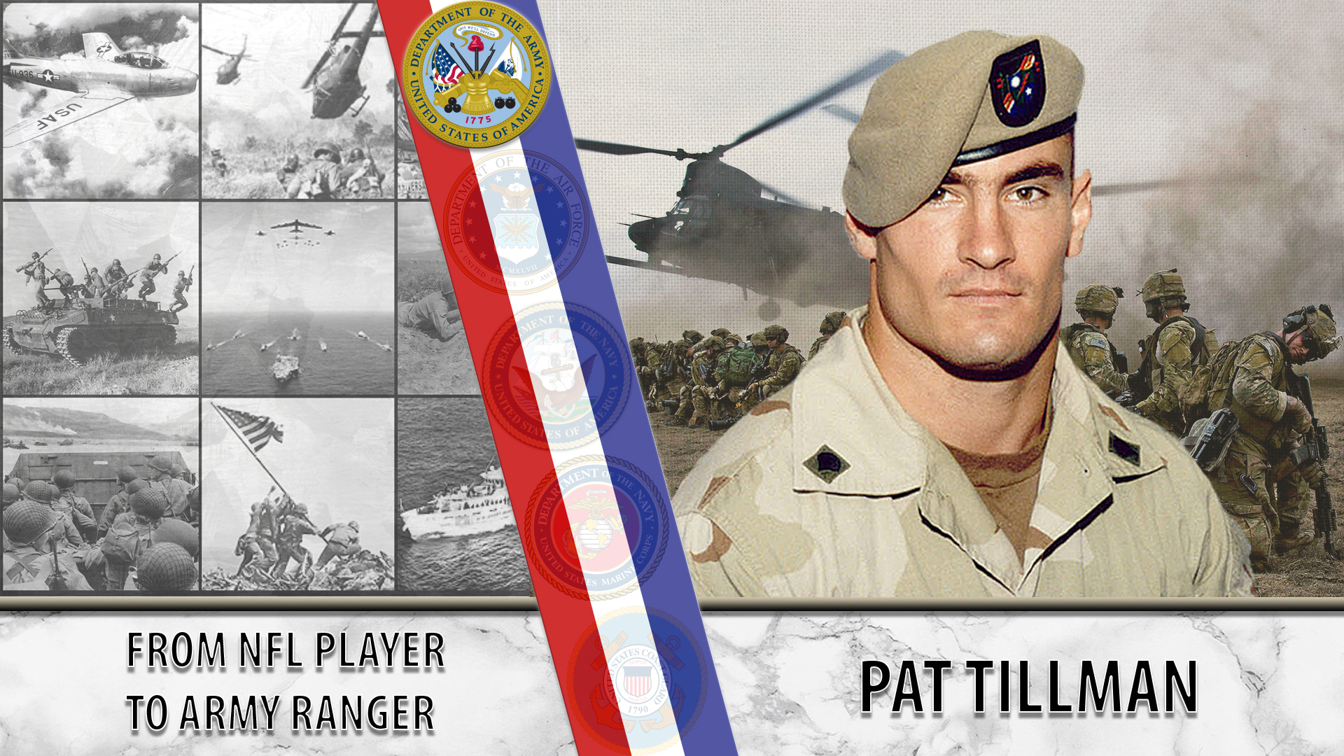 Pat Tillman left the NFL for the Army after 9/11.