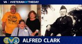 Alfred Clark is today's Veteran of the Day.