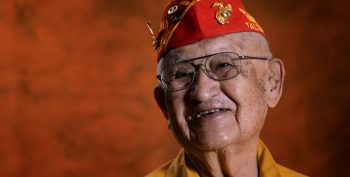 Navajo Code Talker Thomas H. Begay