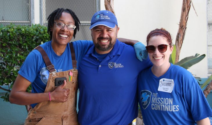 In recognition of the tragedy of 9/11 and those who served in its wake, The Mission Continues has organized United in Service, a month-long campaign of volunteer days of service.