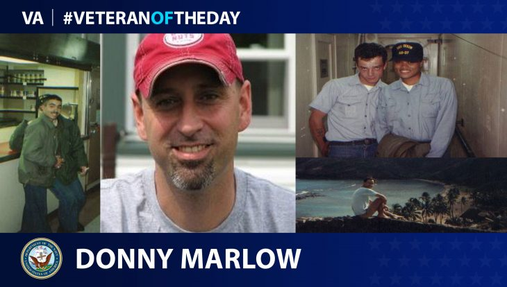 Donny Marlow is today's Veteran of the Day.