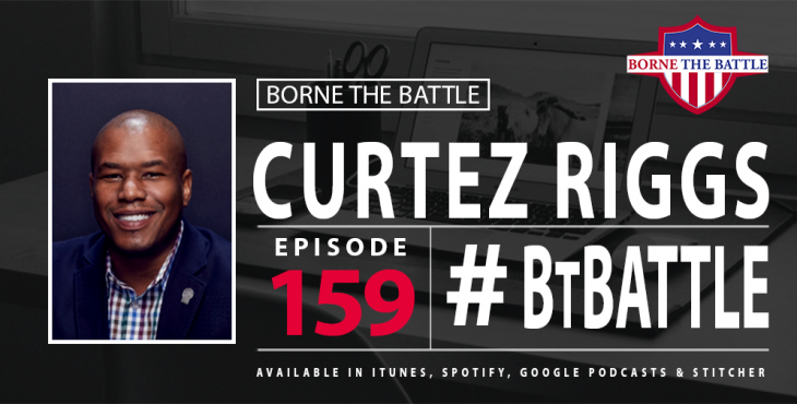 Borne the Battle Podcast, Ep 159 - Curtez Riggs