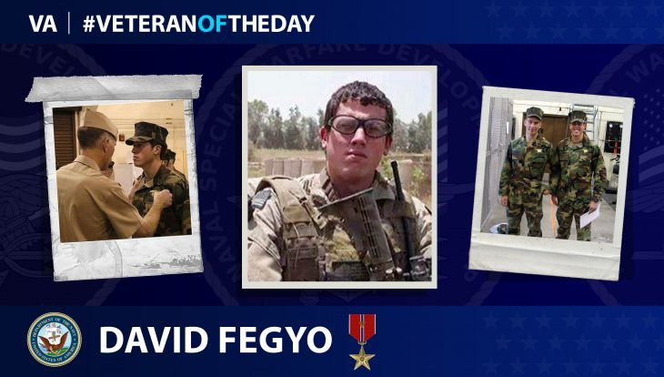 David Fegyo is today's Veteran of the Day.