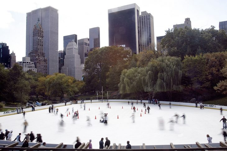 New adaptive ice skating program in NYC's Central Park for service-disabled Veterans and service members.