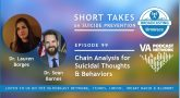 In this podcast, Dr. Barnes and Dr. Borges talk chain analysis and evidence-based treatment for suicide prevention.