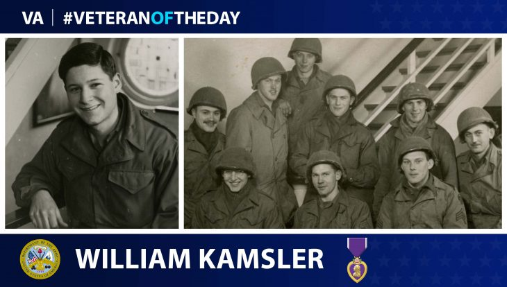 William Kansler is today's Veteran of the Day.